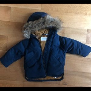 ZARA Down Toddler 12-18m winter jacket